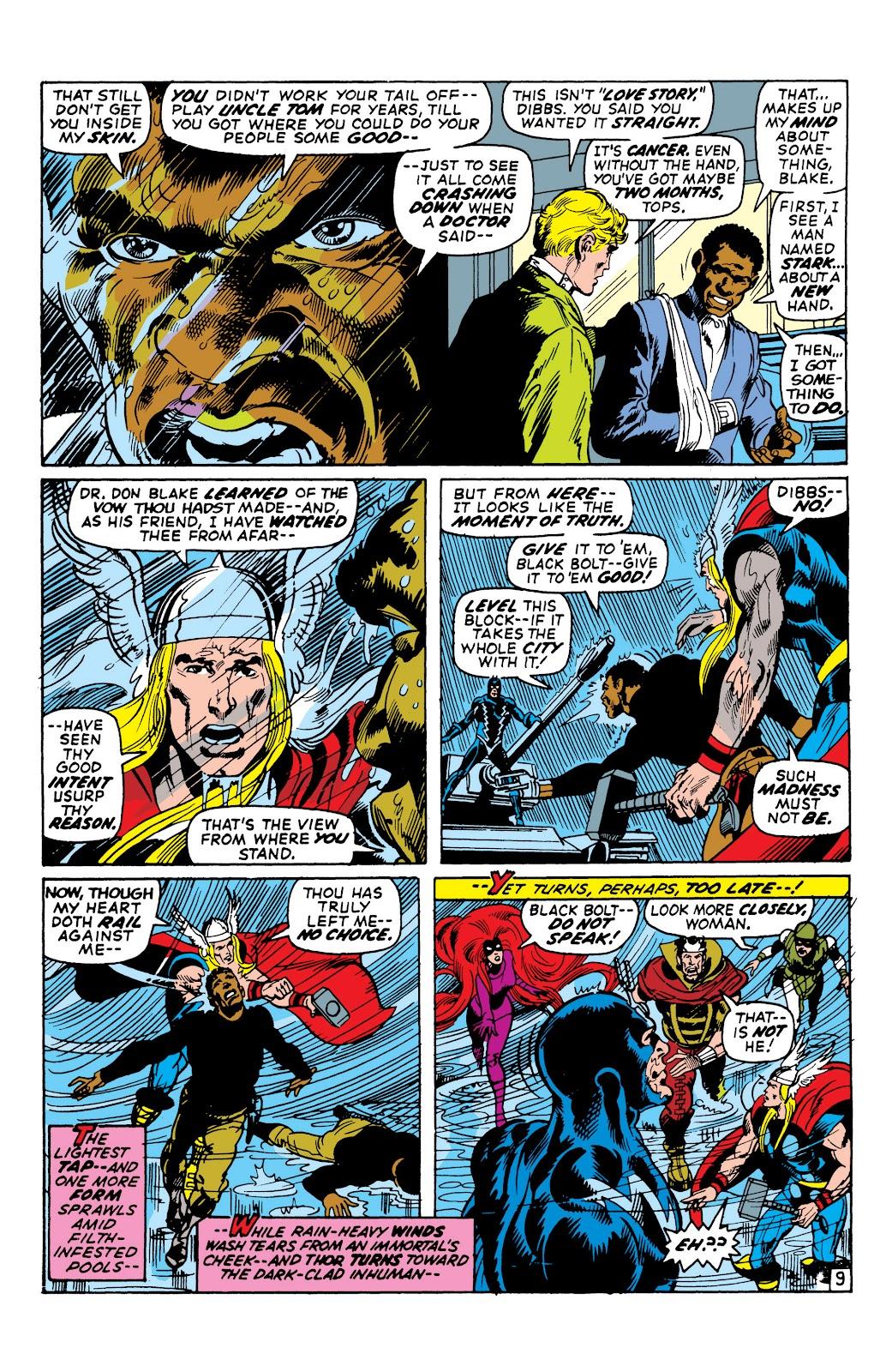 Read online Marvel Masterworks: The Inhumans comic -  Issue # TPB 1 (Part 2) - 55