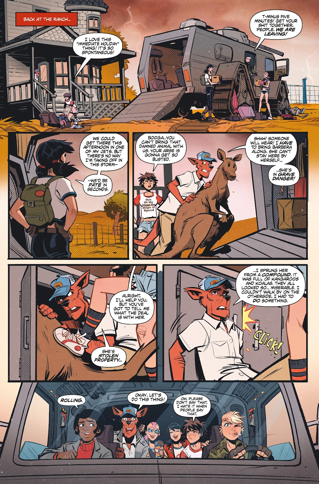 Read online Tank Girl Ongoing comic -  Issue #1 - 20