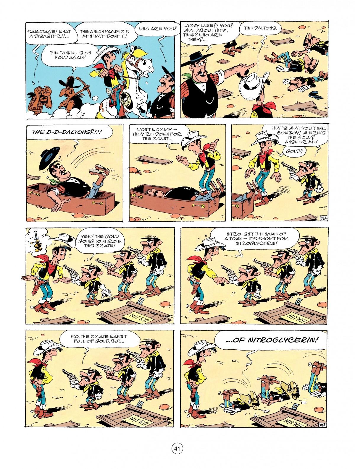 Read online A Lucky Luke Adventure comic -  Issue #53 - 41
