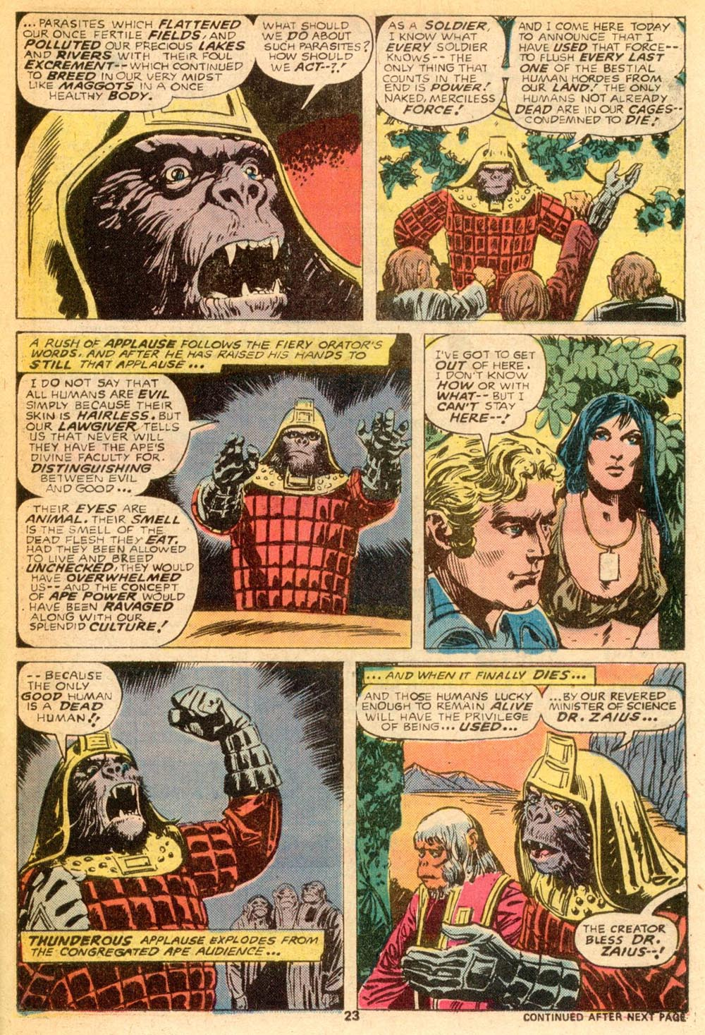 Read online Adventures on the Planet of the Apes comic -  Issue #7 - 15
