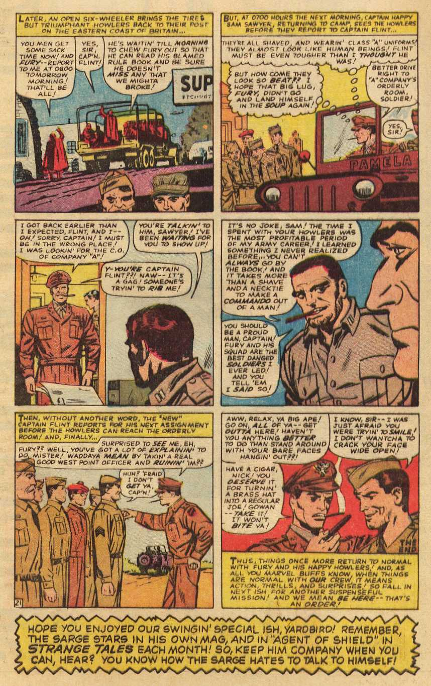 Read online Sgt. Fury comic -  Issue # _Special 2 - 65