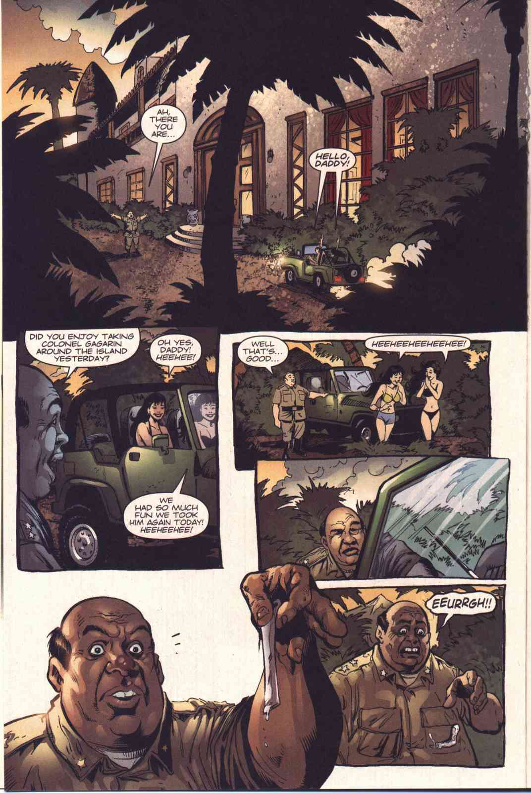 Read online Fury comic -  Issue #4 - 12