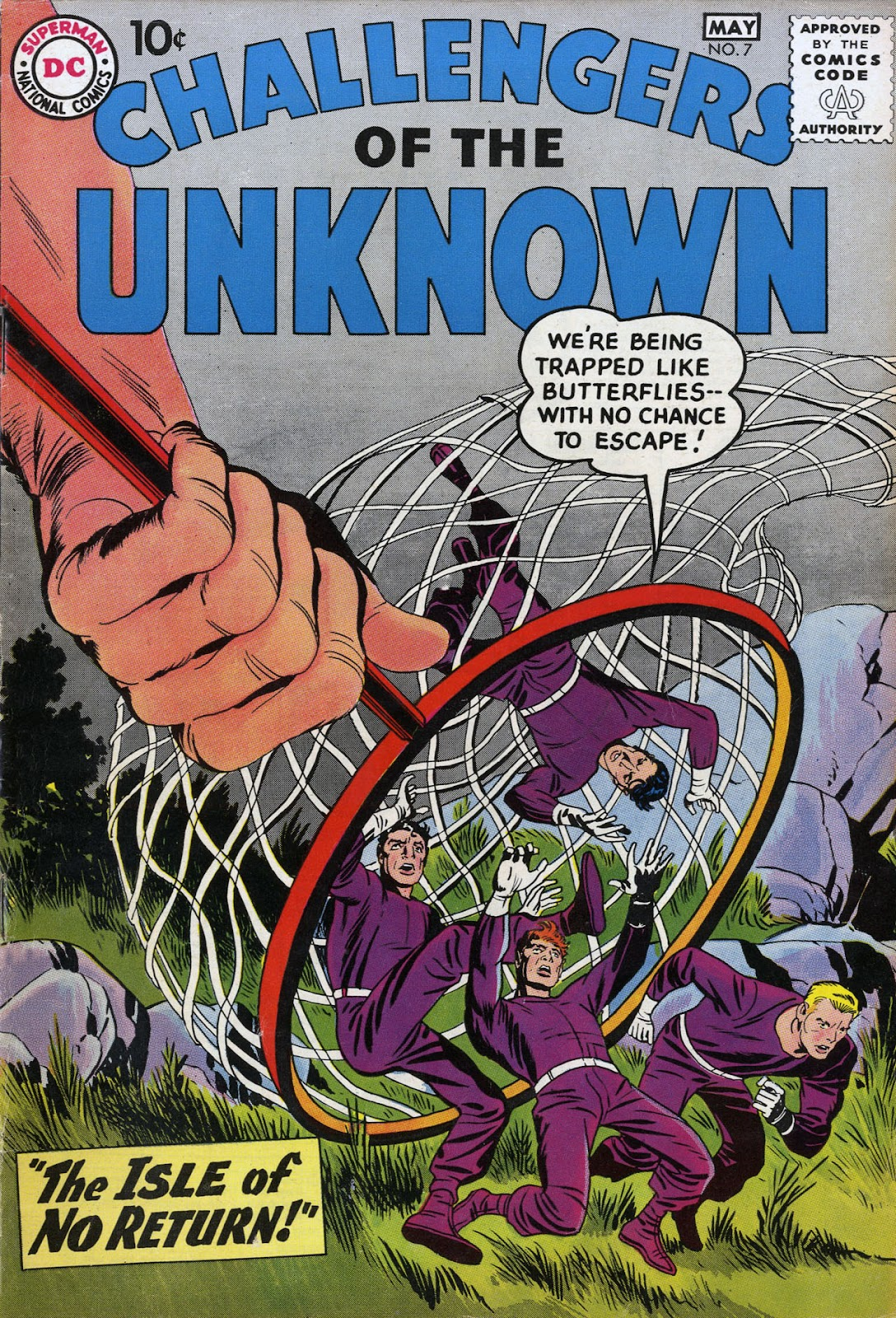 Challengers of the Unknown (1958) 7 Page 1