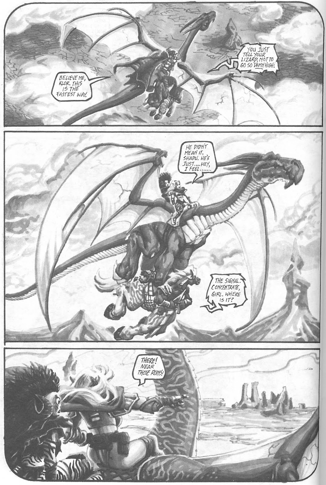 Read online Animal Mystic comic -  Issue #4 - 38