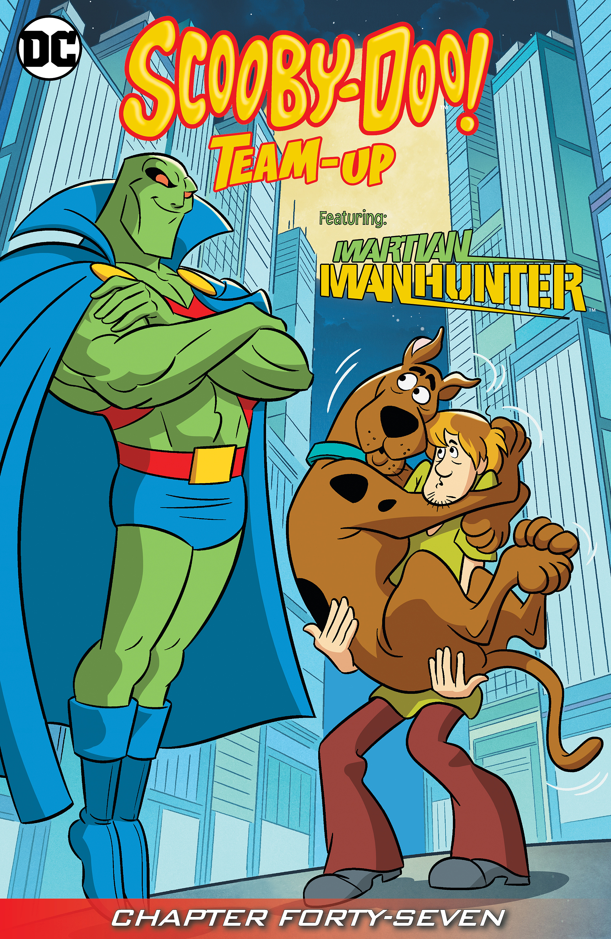 Read online Scooby-Doo! Team-Up comic -  Issue #47 - 2