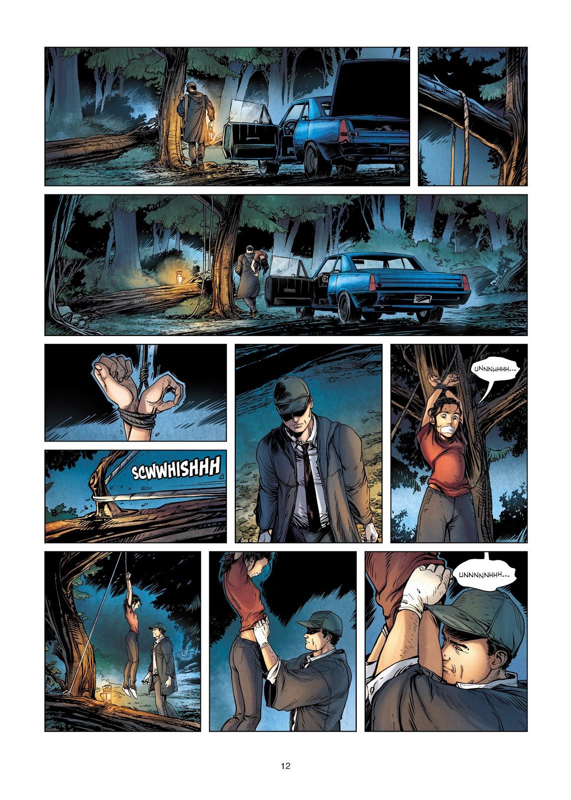 Read online Vigilantes comic -  Issue #2 - 12