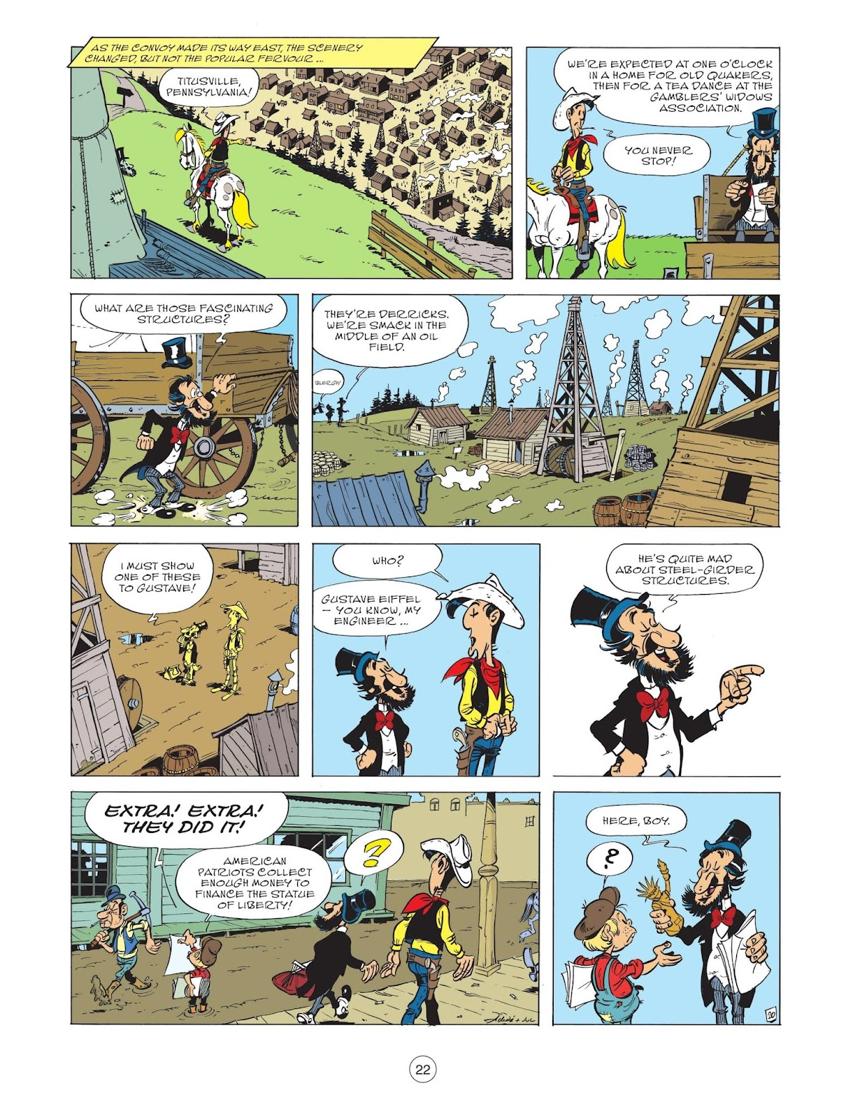 A Lucky Luke Adventure issue 71 - Page 24