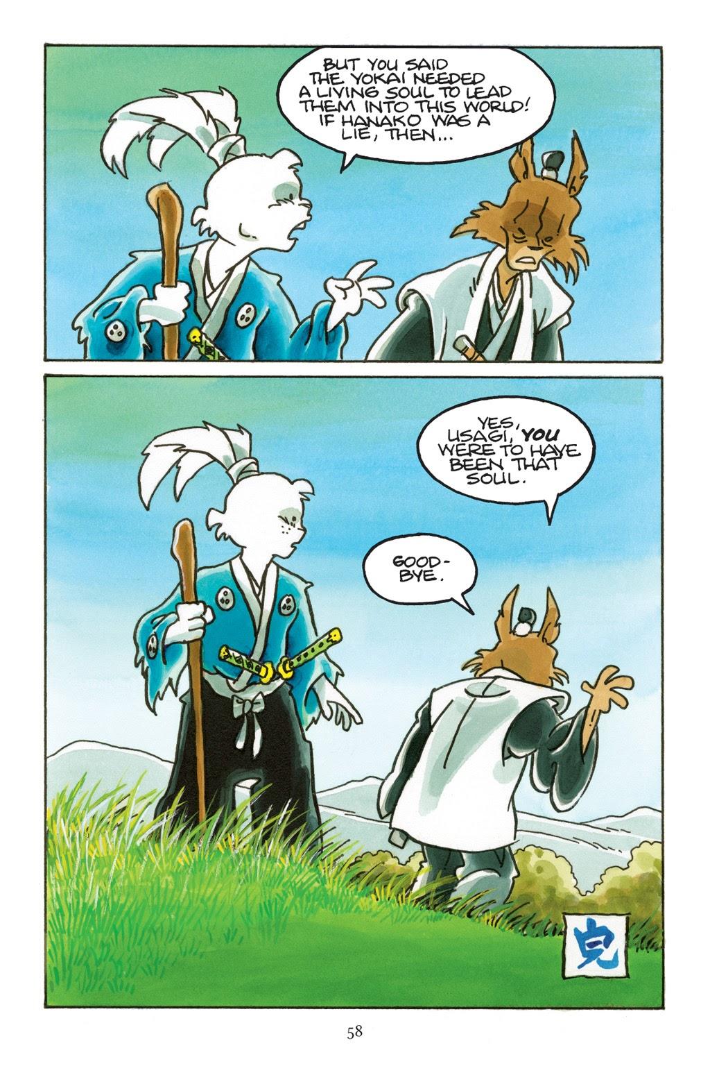 Read online Usagi Yojimbo: Yokai comic -  Issue # Full - 55