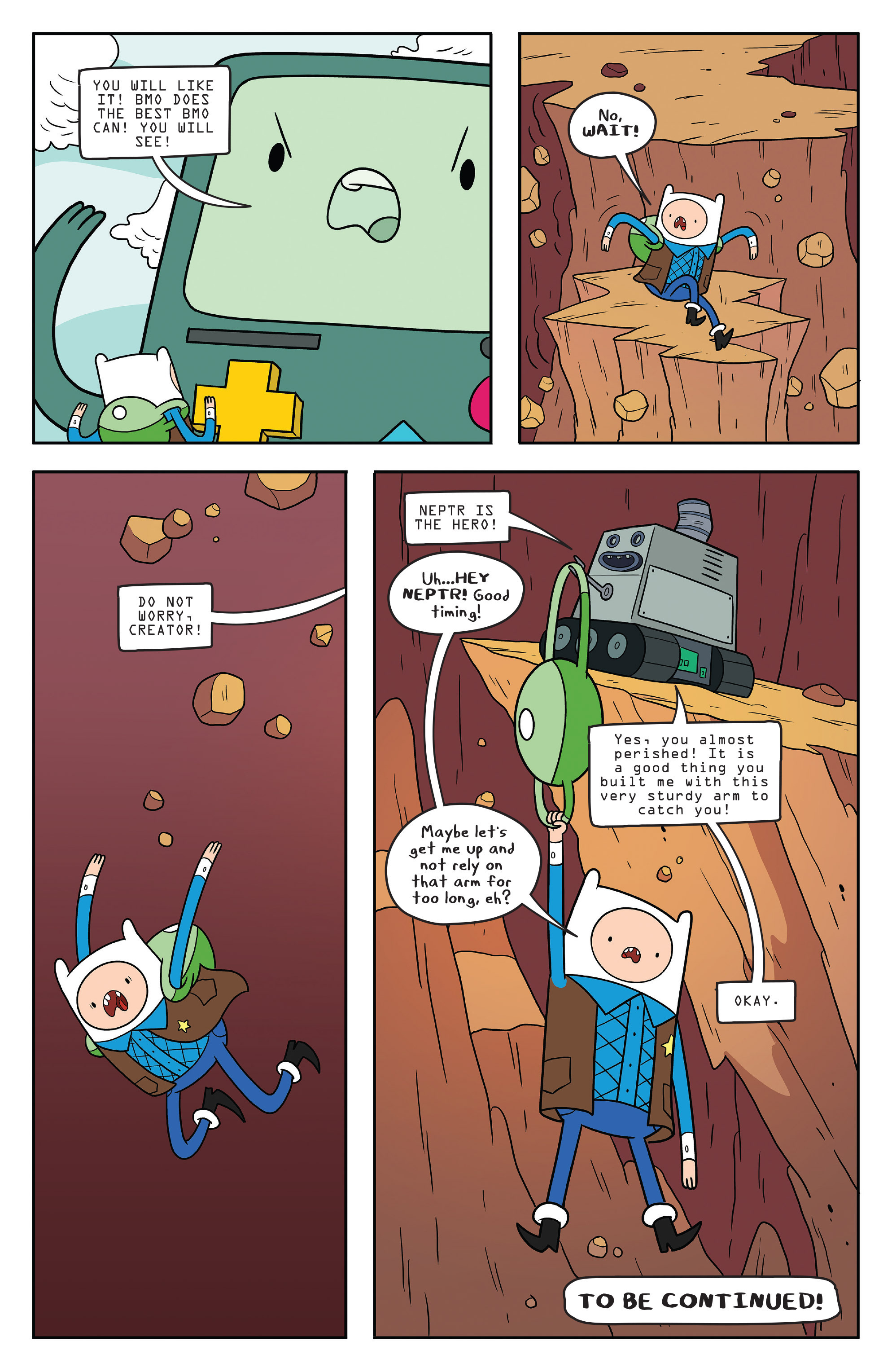 Read online Adventure Time comic -  Issue #55 - 24