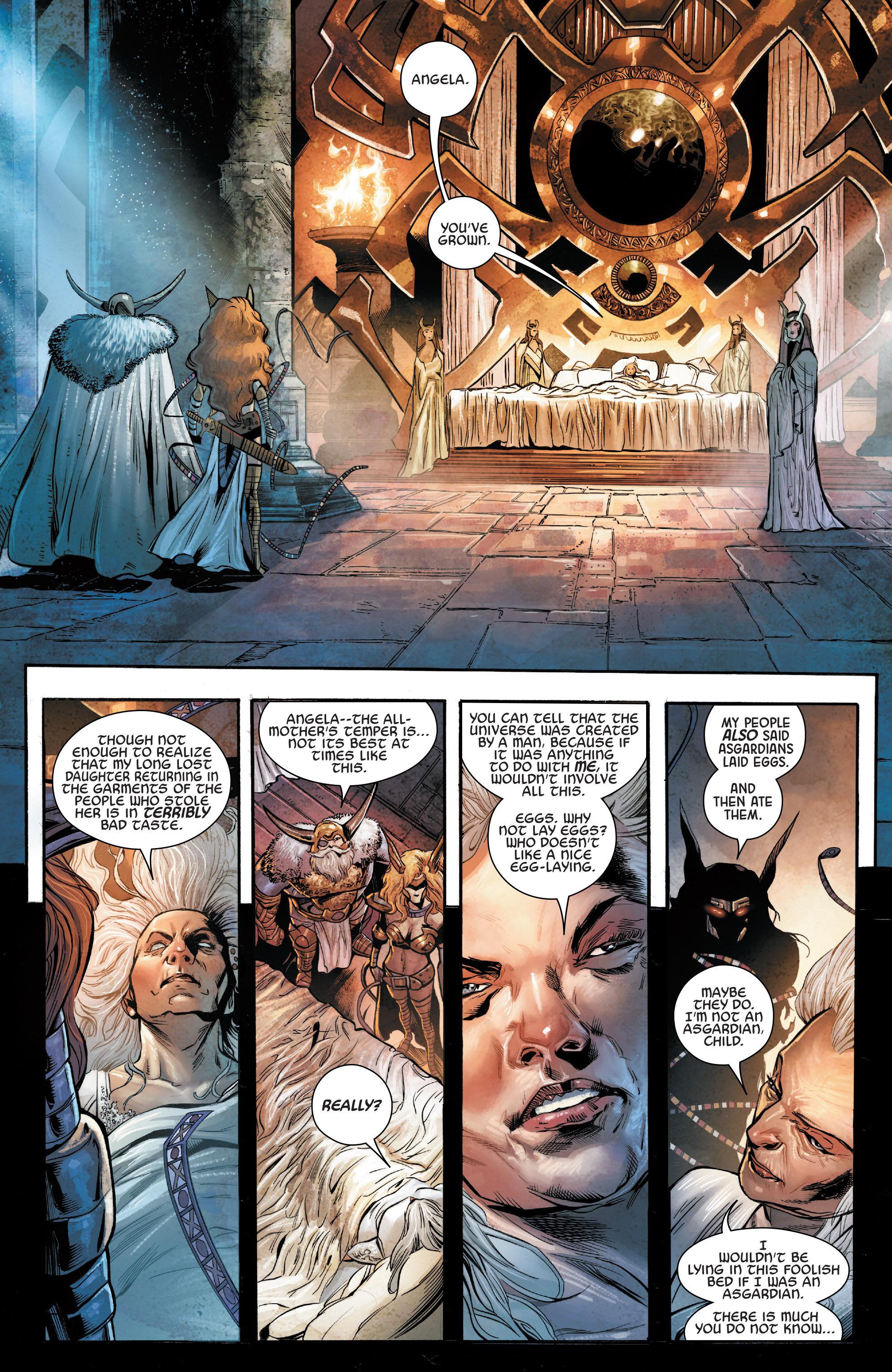 Read online Angela: Asgard's Assassin comic -  Issue #2 - 6