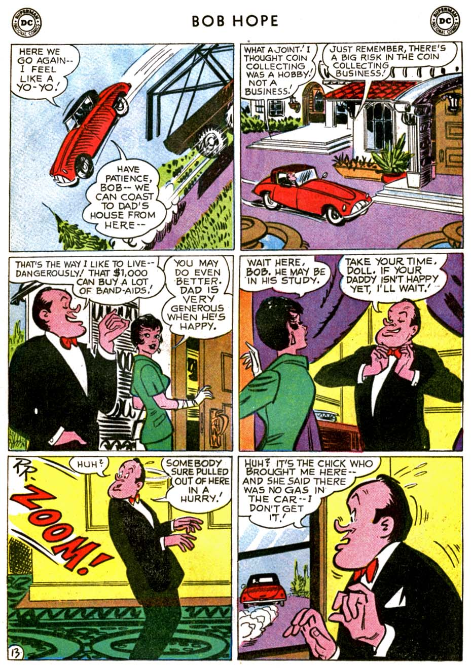 The Adventures of Bob Hope issue 71 - Page 17