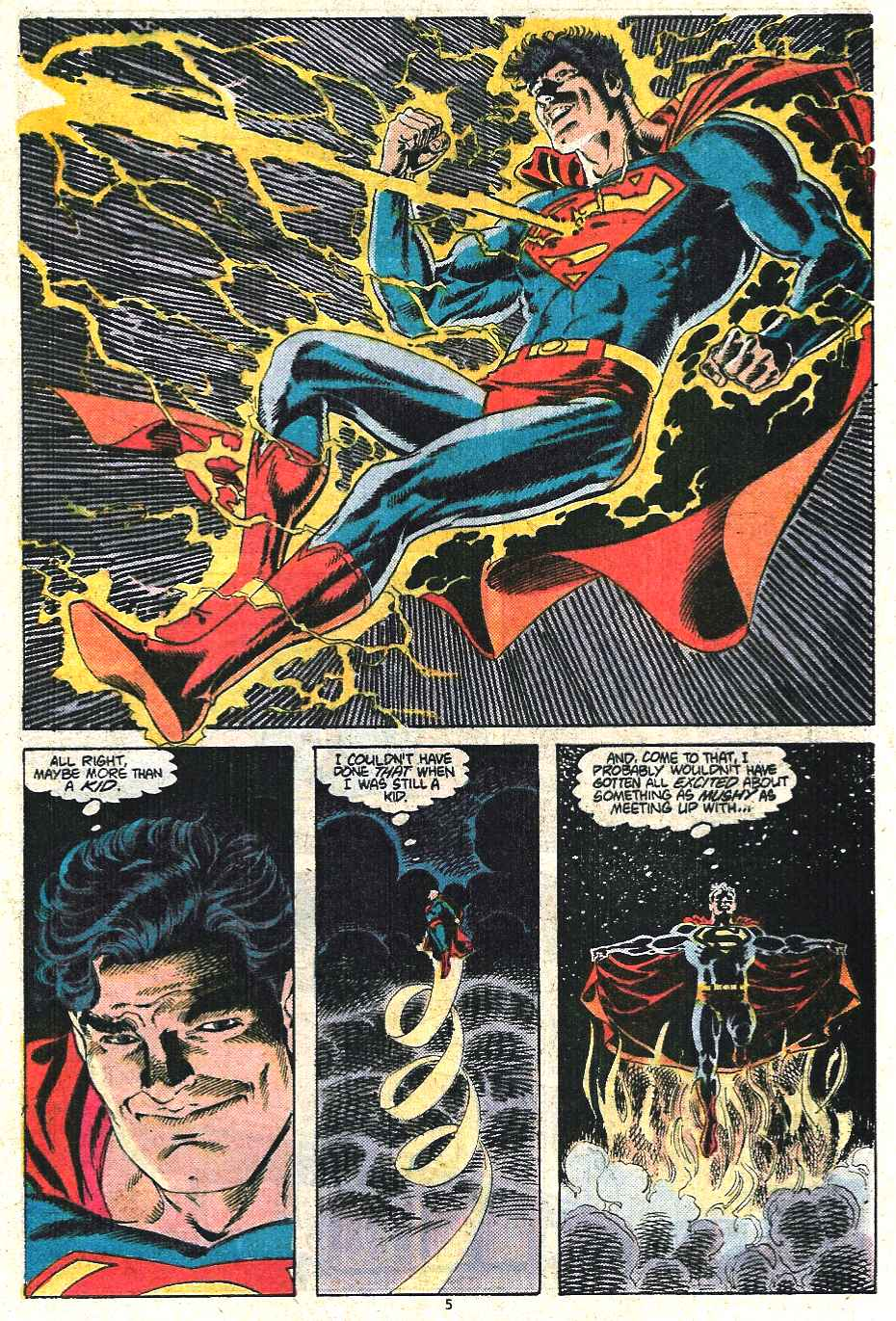 Read online Adventures of Superman (1987) comic -  Issue #440 - 6