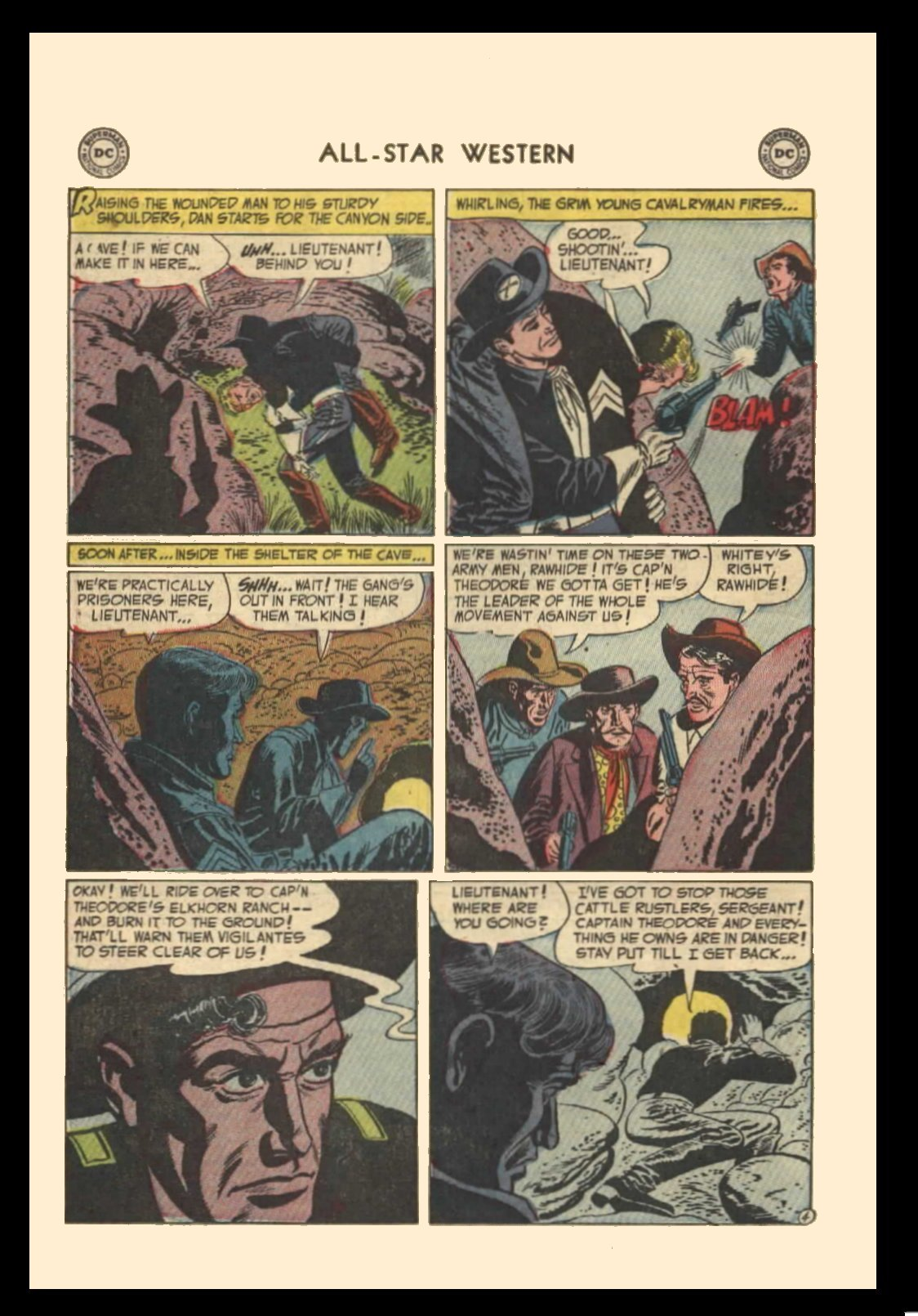 Read online All-Star Western (1951) comic -  Issue #72 - 22