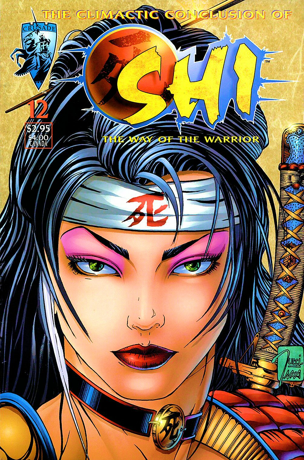 Read online Shi: The Way of the Warrior comic -  Issue #12 - 1