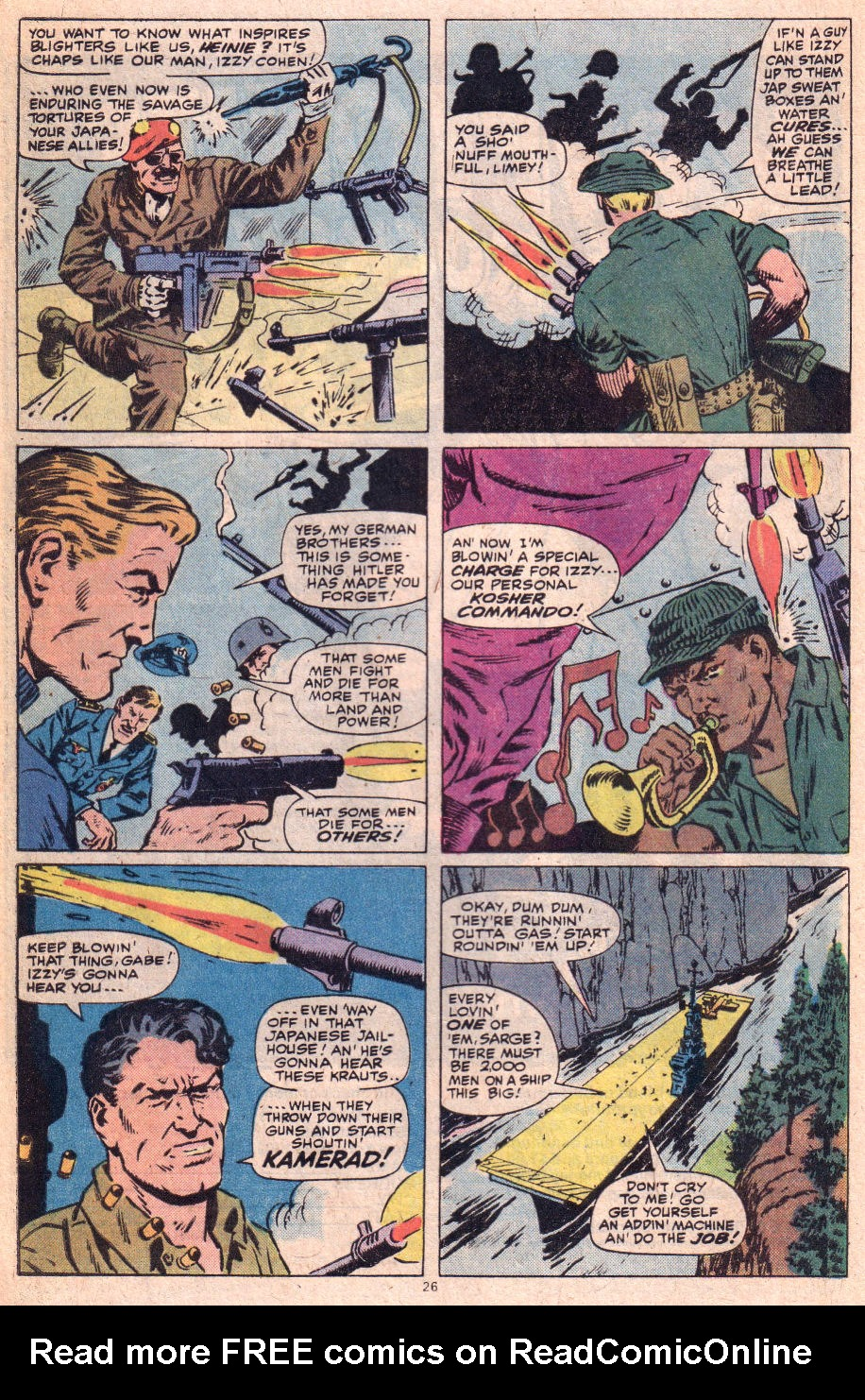 Read online Sgt. Fury comic -  Issue #153 - 27