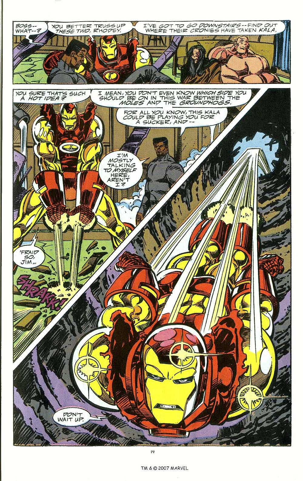 Iron Man Annual issue 12 - Page 21