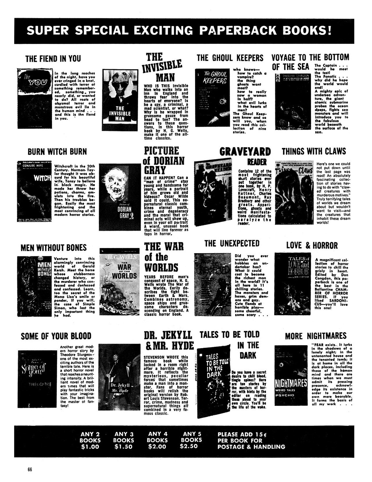 Read online Eerie Archives comic -  Issue # TPB 3 - 67