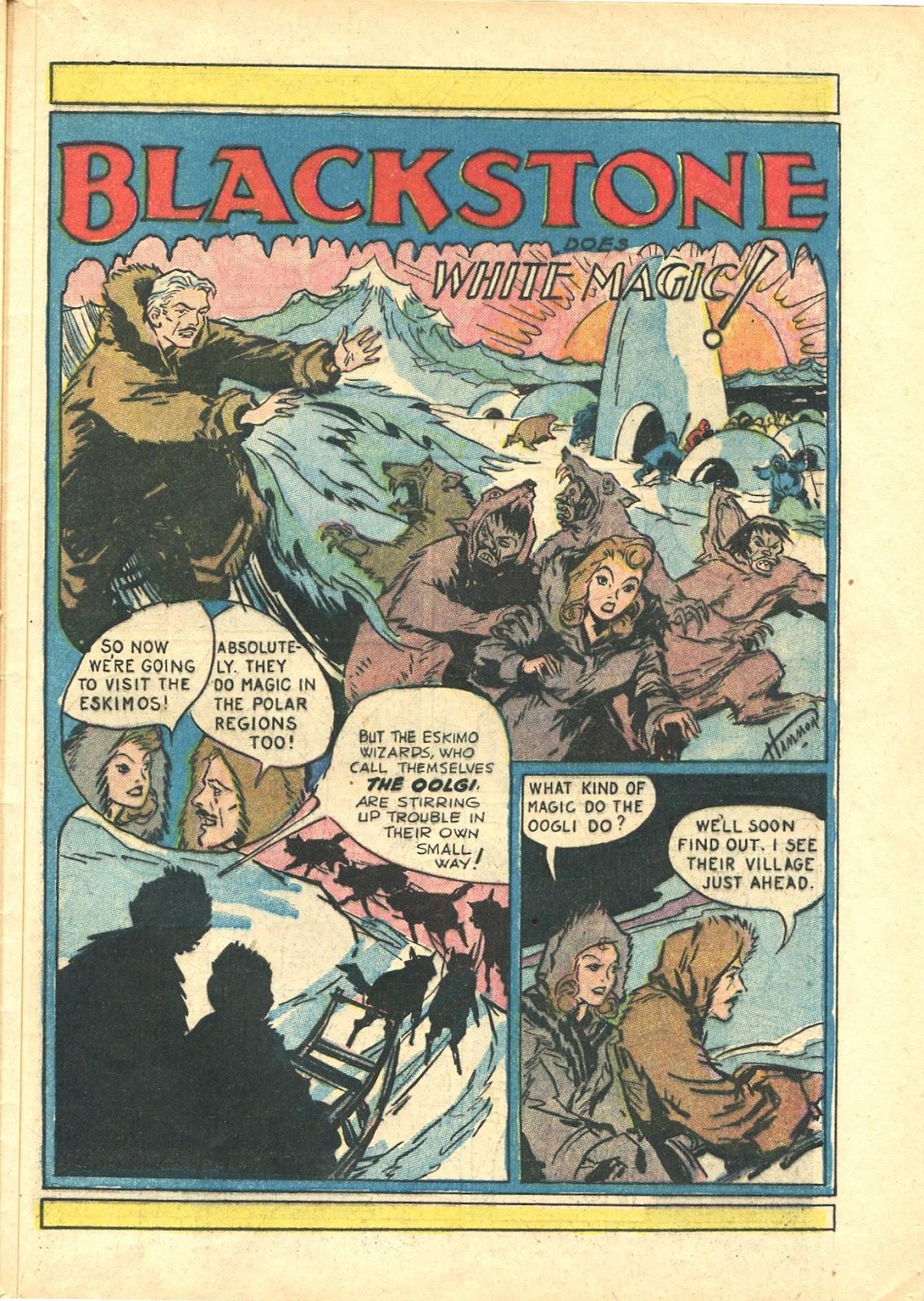 Read online Super-Magician Comics comic -  Issue #21 - 51