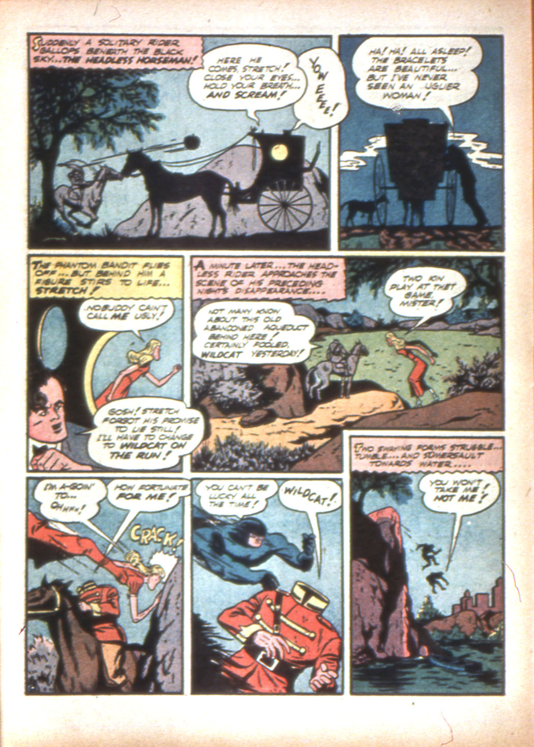 Read online Sensation (Mystery) Comics comic -  Issue #16 - 64