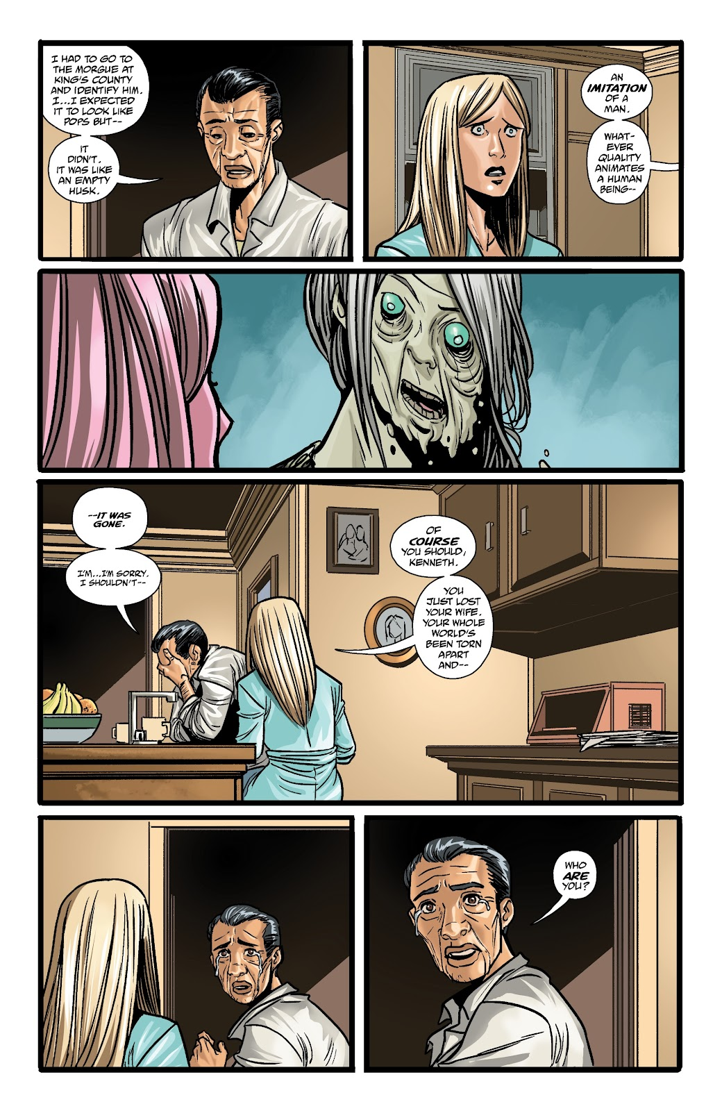 Read online The Girl In The Bay comic -  Issue #3 - 20