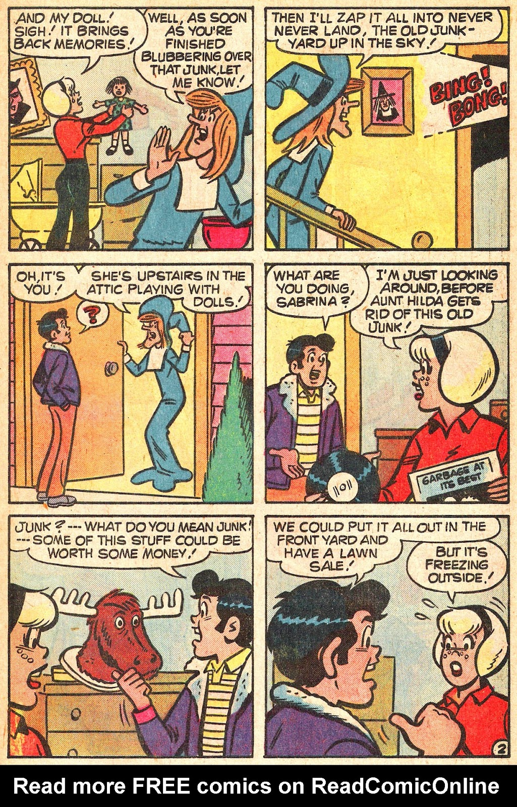 Sabrina The Teenage Witch (1971) Issue #44 #44 - English 21