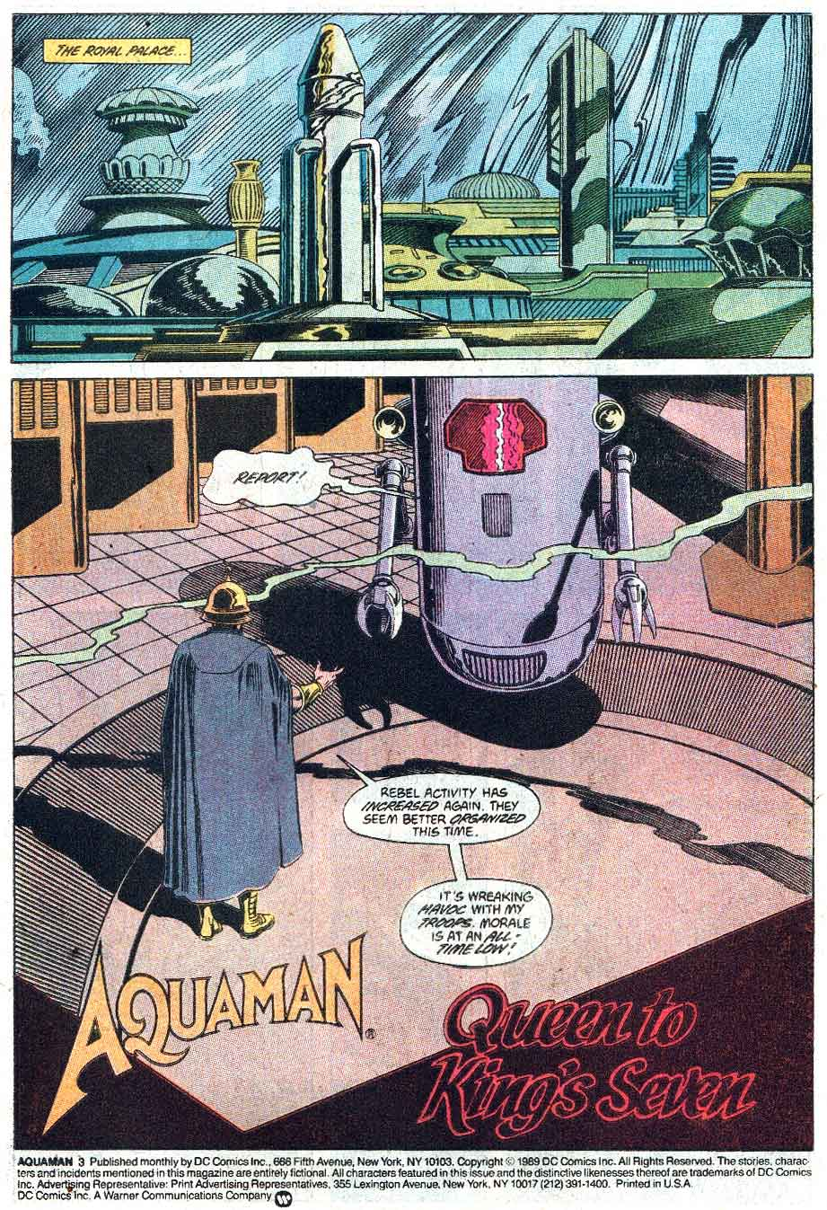 Read online Aquaman (1989) comic -  Issue #3 - 2