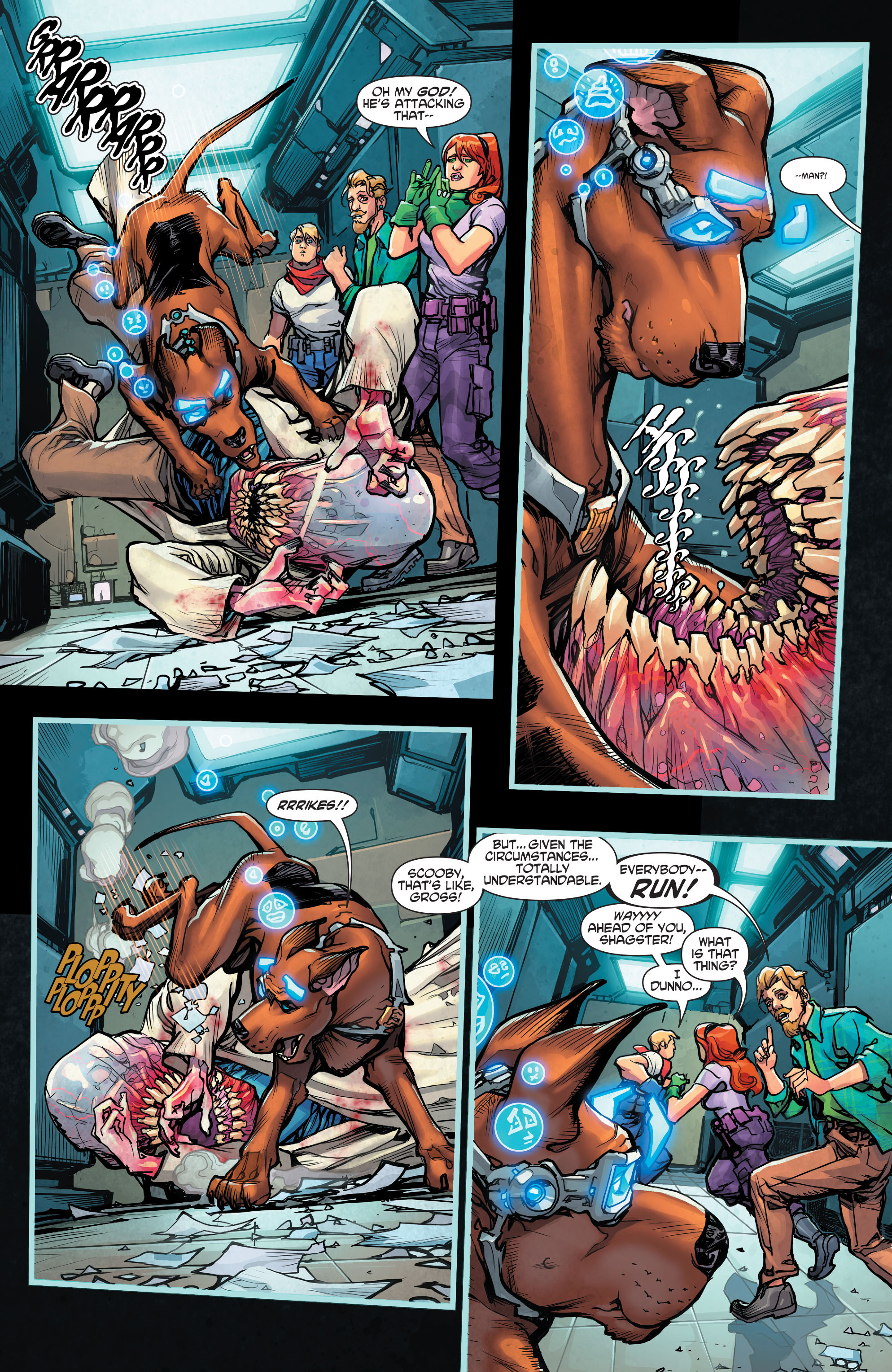 Read online Scooby Apocalypse comic -  Issue #2 - 9