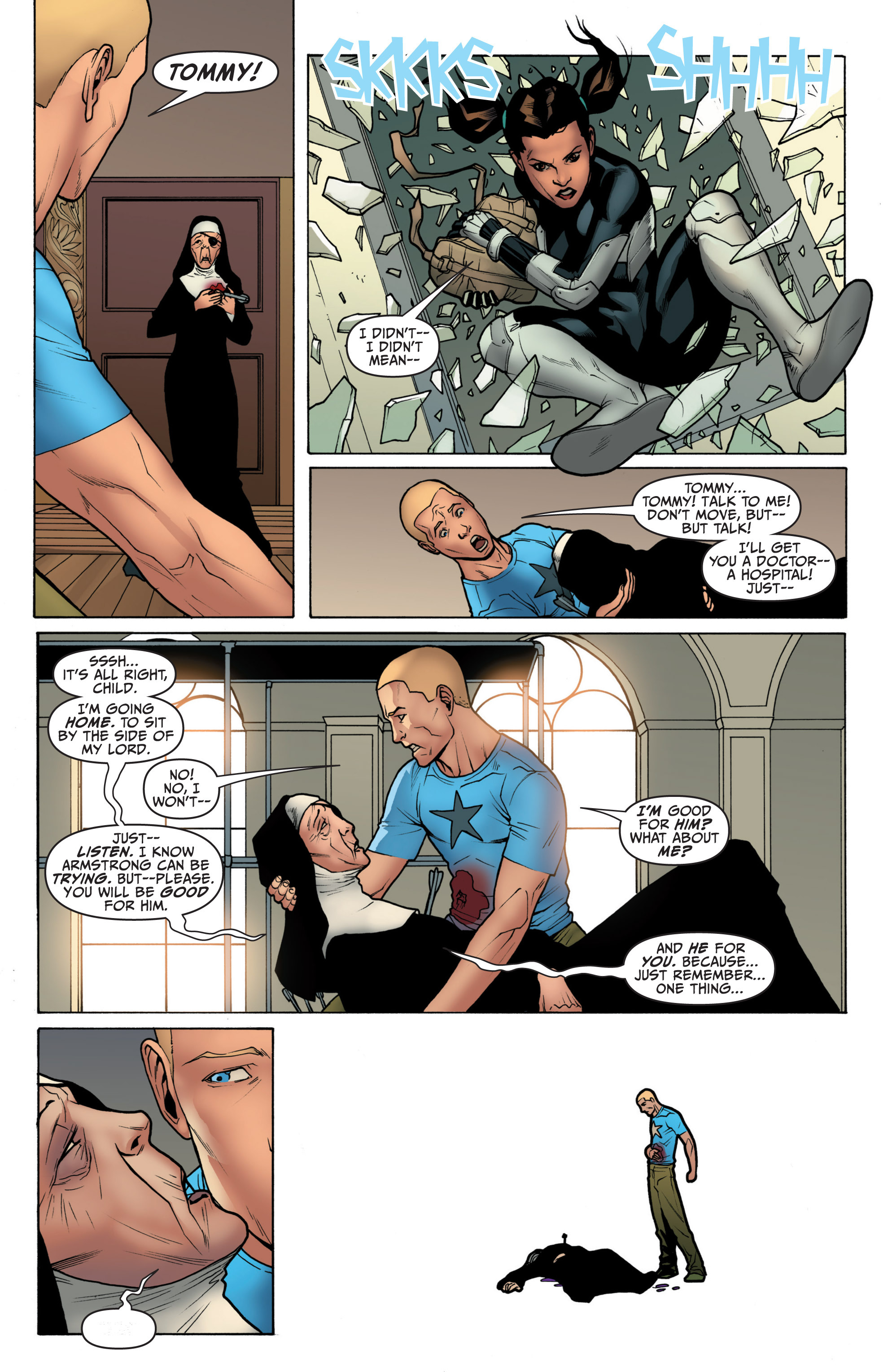Read online Archer and Armstrong comic -  Issue #3 - 22
