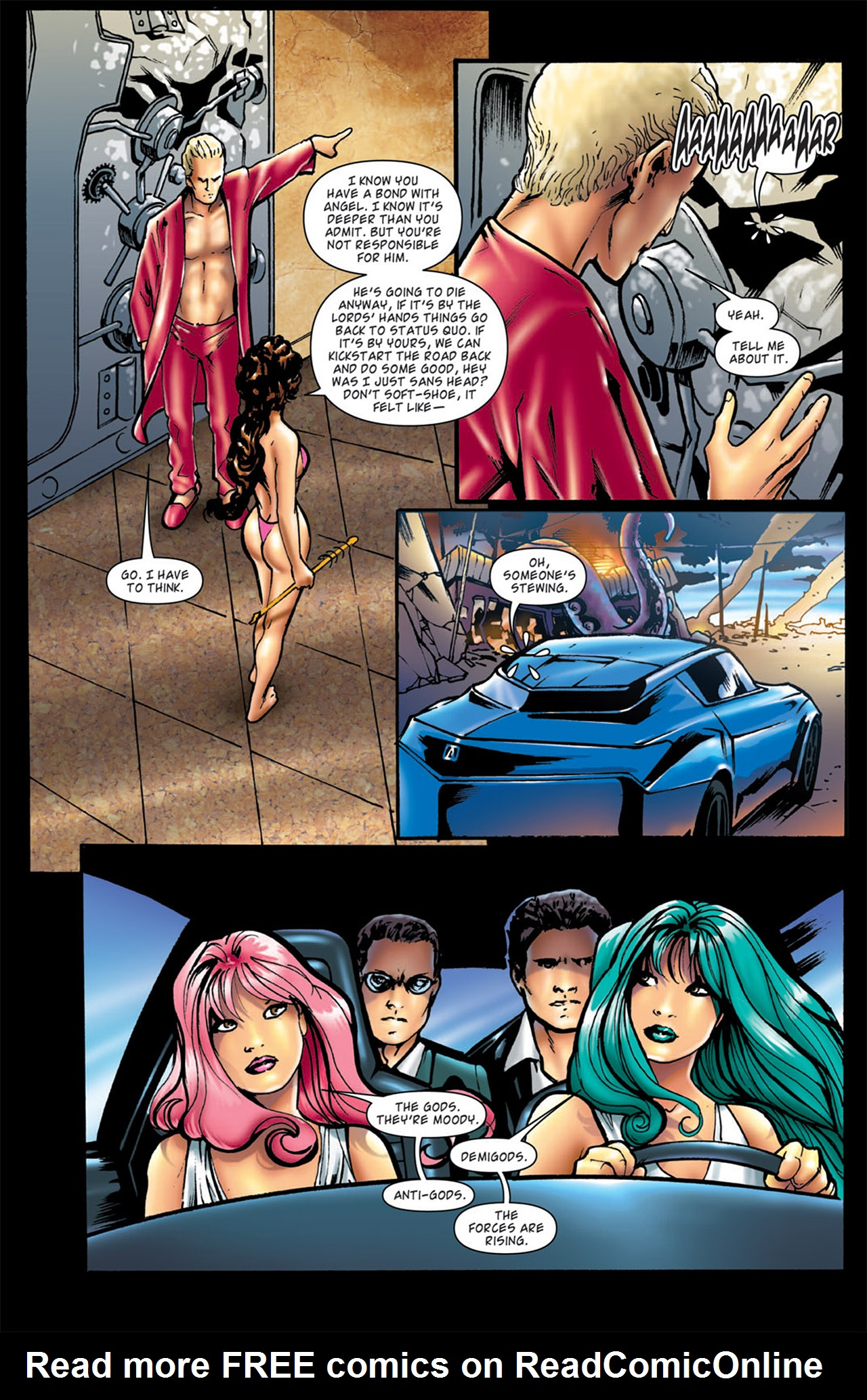Read online Angel: After The Fall comic -  Issue #4 - 16