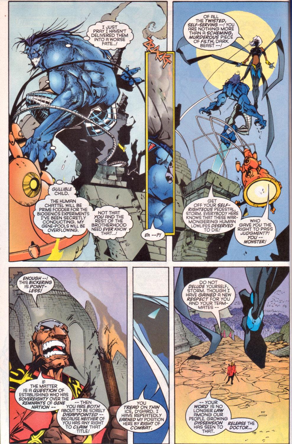 Read online Uncanny X-Men (1963) comic -  Issue # _Annual 1997 - 35