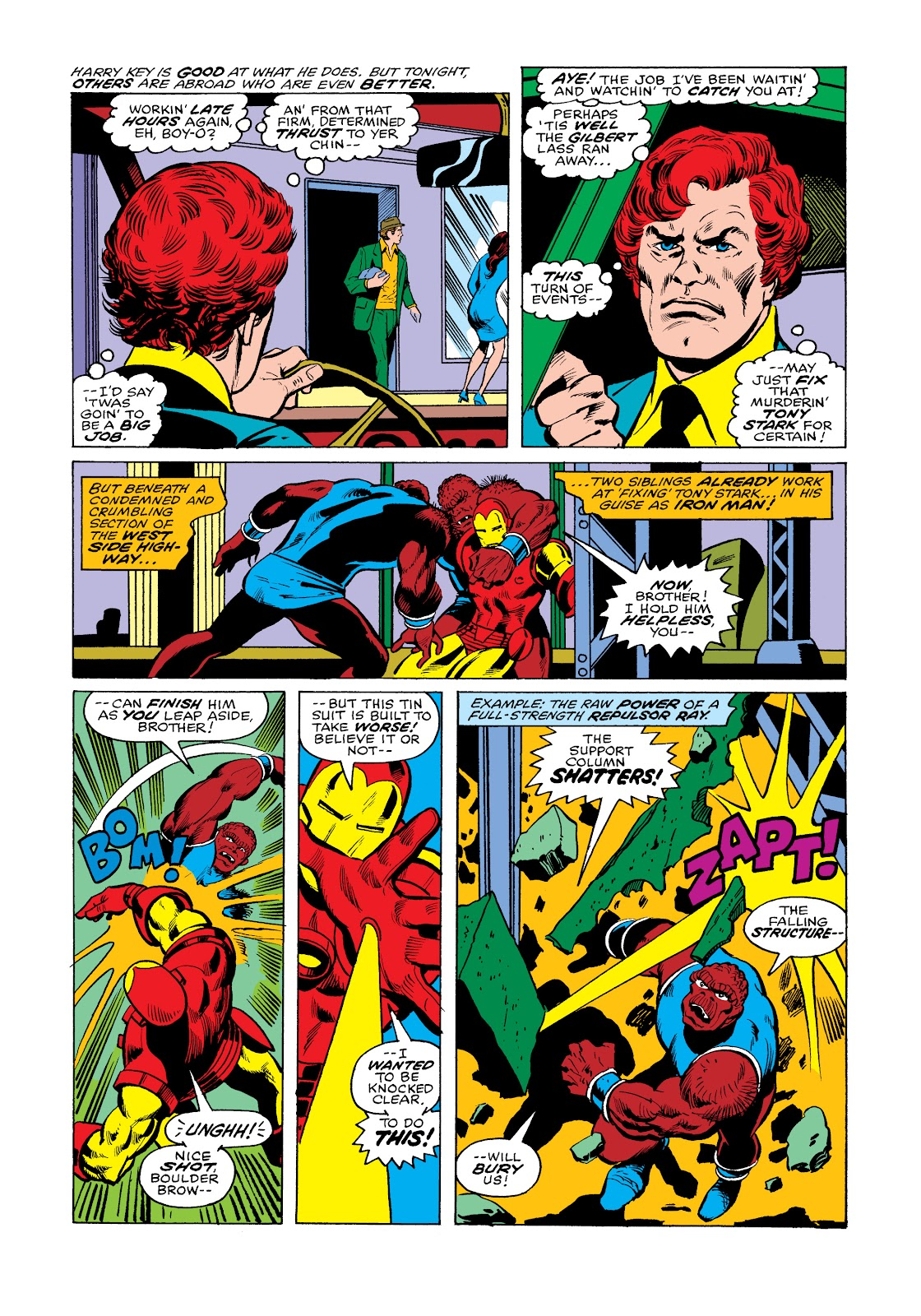 Read online Marvel Masterworks: The Invincible Iron Man comic -  Issue # TPB 11 (Part 2) - 72