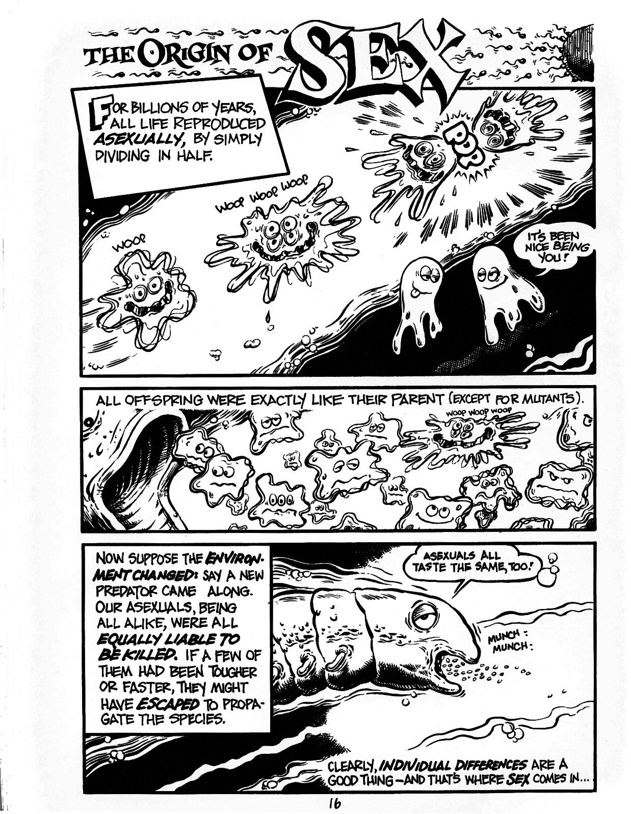 Read online The Cartoon History of the Universe comic -  Issue #1 - 21