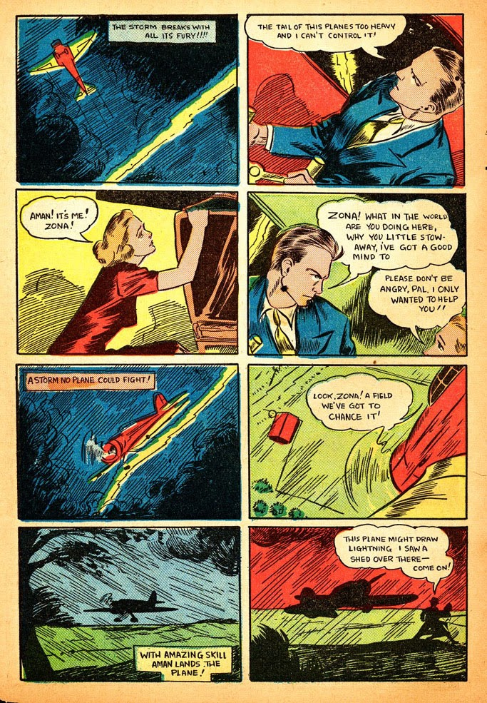Read online Amazing Man Comics comic -  Issue #12 - 8