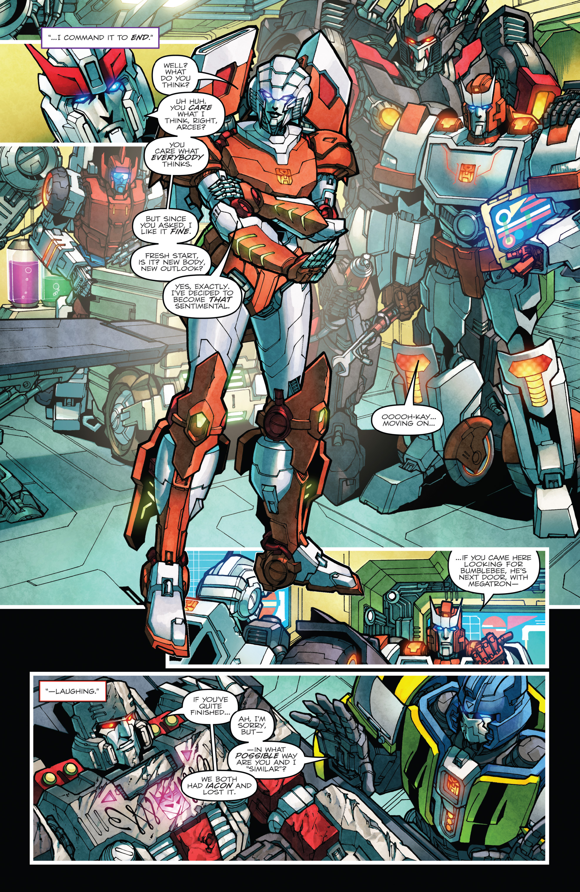 Read online The Transformers: Dark Cybertron Finale comic -  Issue # Full - 89