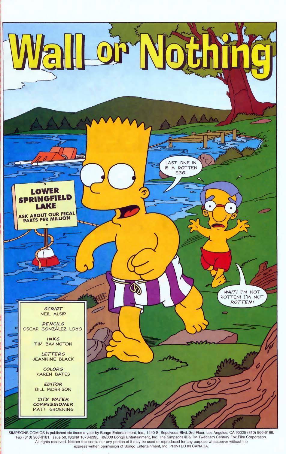Read online Simpsons Comics comic -  Issue #50 - 2