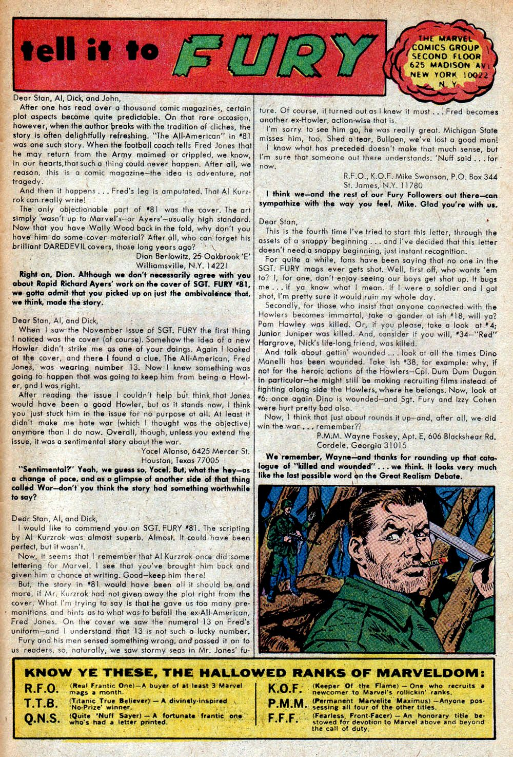 Read online Sgt. Fury comic -  Issue #85 - 33