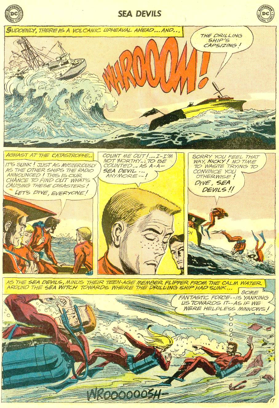 Read online Sea Devils comic -  Issue #12 - 22