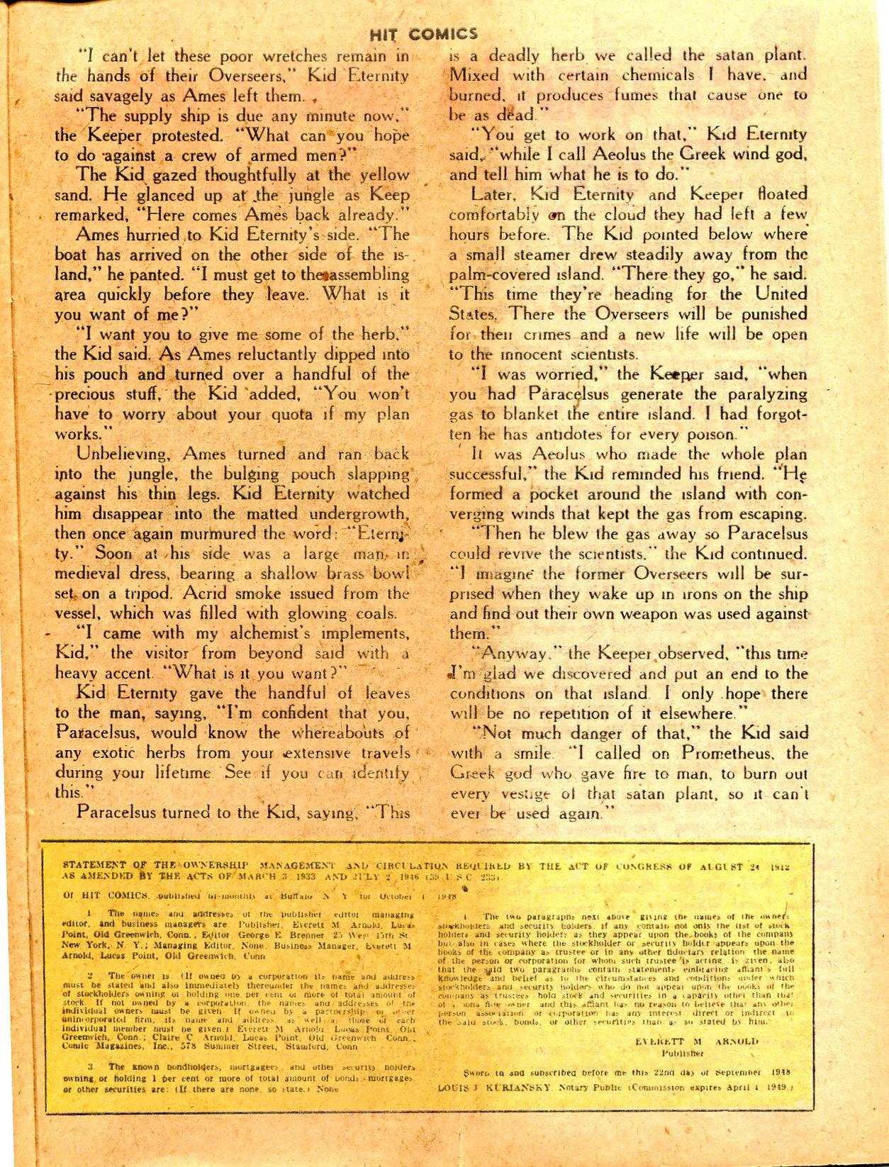 Read online Hit Comics comic -  Issue #57 - 39