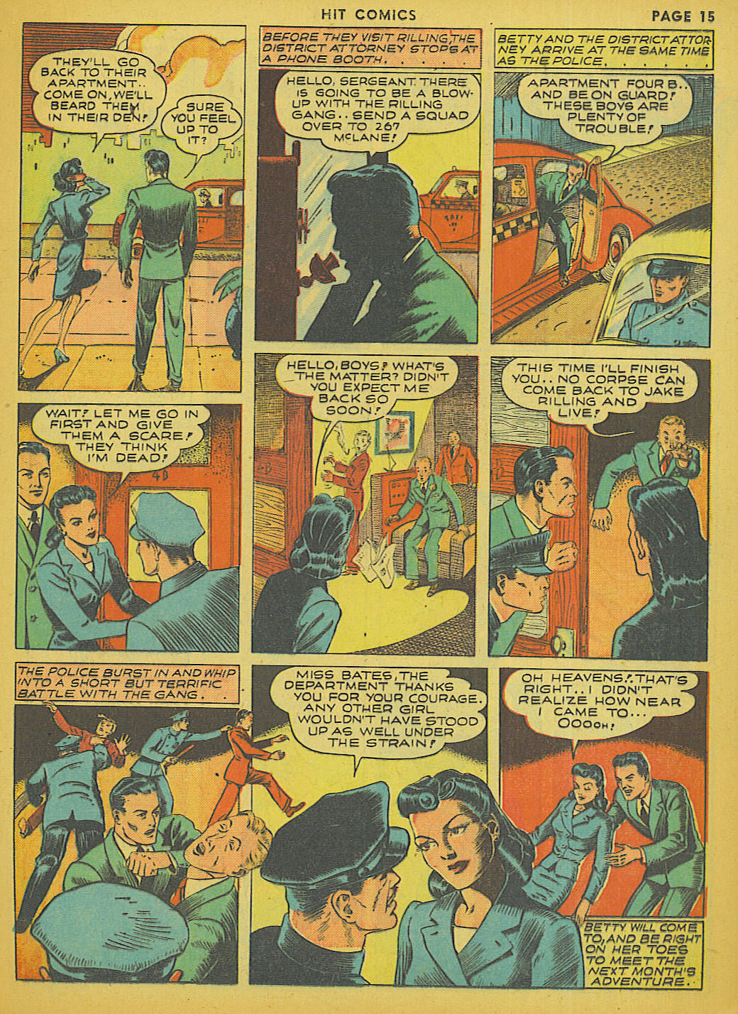 Read online Hit Comics comic -  Issue #13 - 17