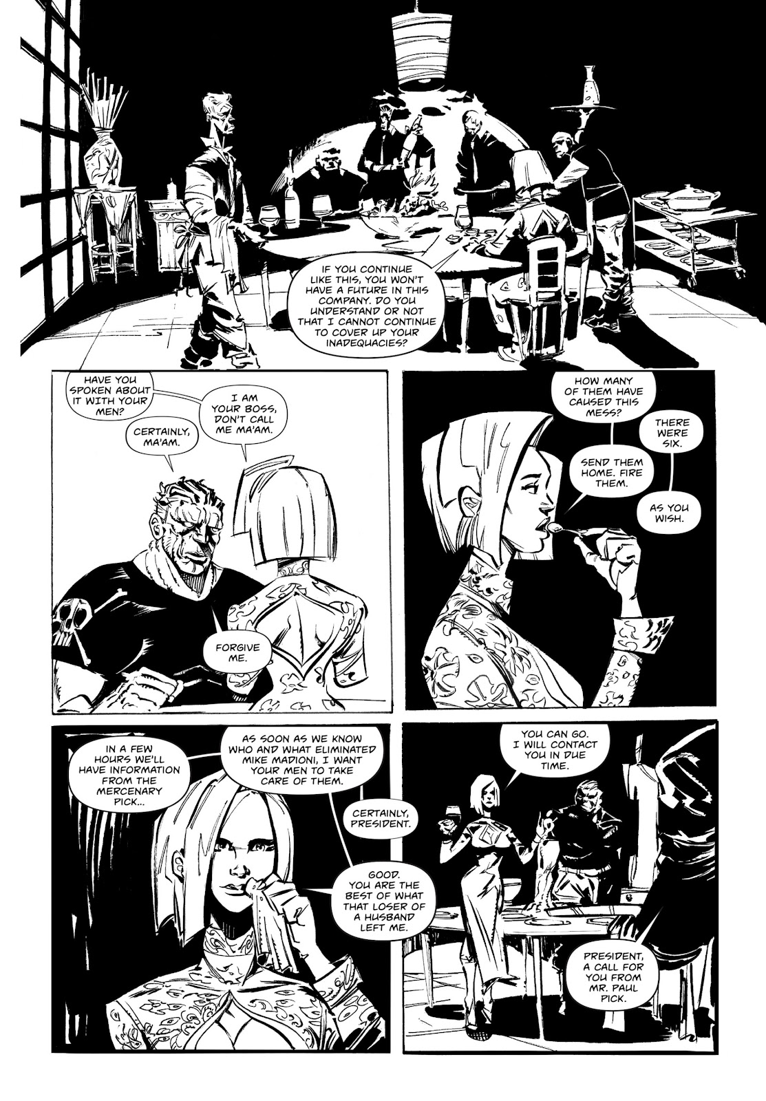 Read online Wrath of God comic -  Issue # _TPB - 39