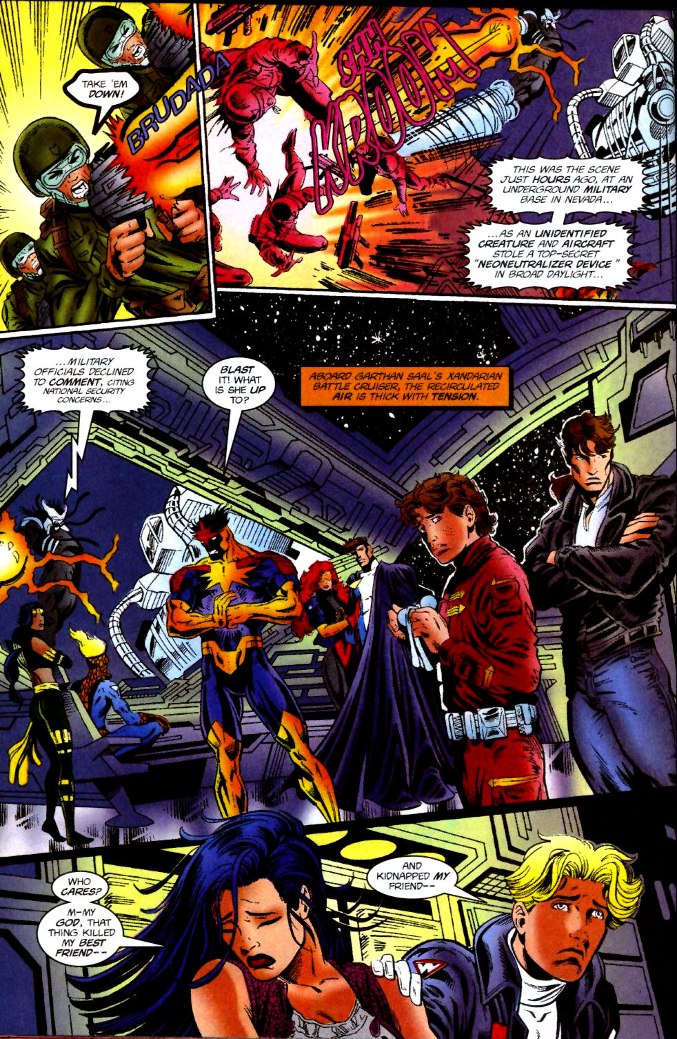 The New Warriors Issue #74 #78 - English 21