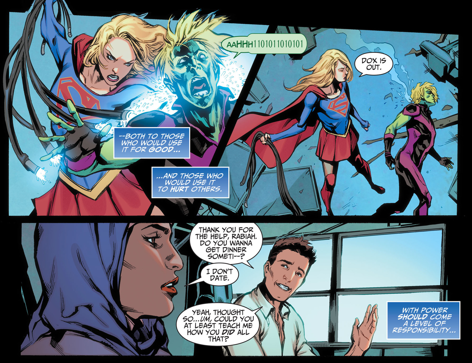 Read online Adventures of Supergirl comic -  Issue #5 - 20
