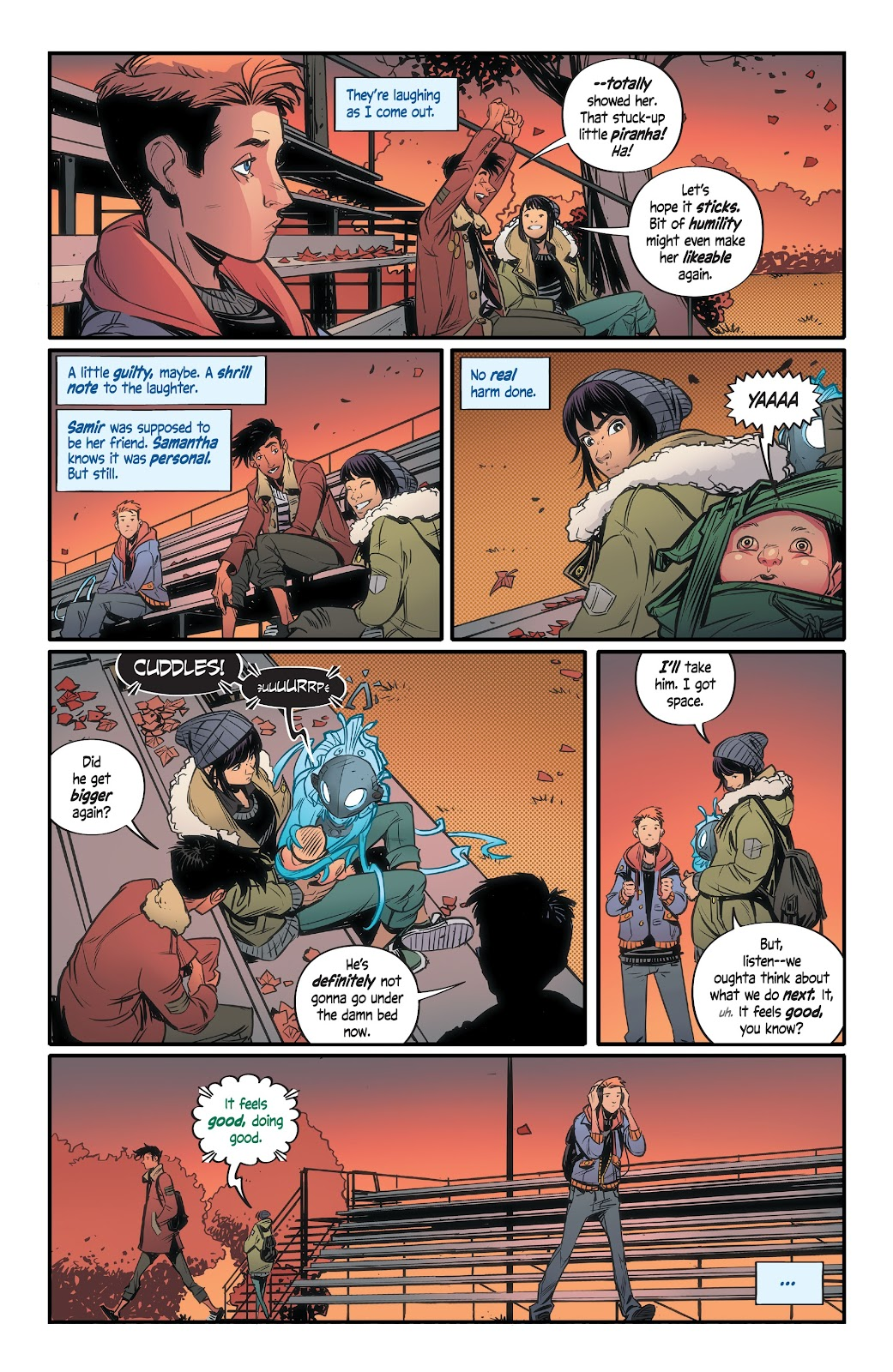 Read online Alienated comic -  Issue #2 - 22