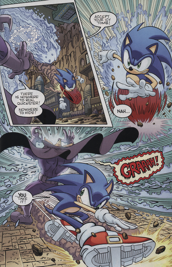 Read online Sonic the Hedgehog Free Comic Book Day Edition comic -  Issue # Special 5 - 15