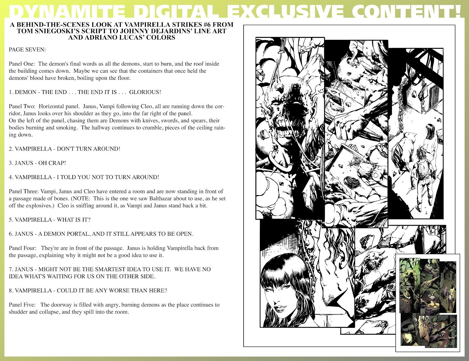 Read online Vampirella Strikes comic -  Issue #6 - 41