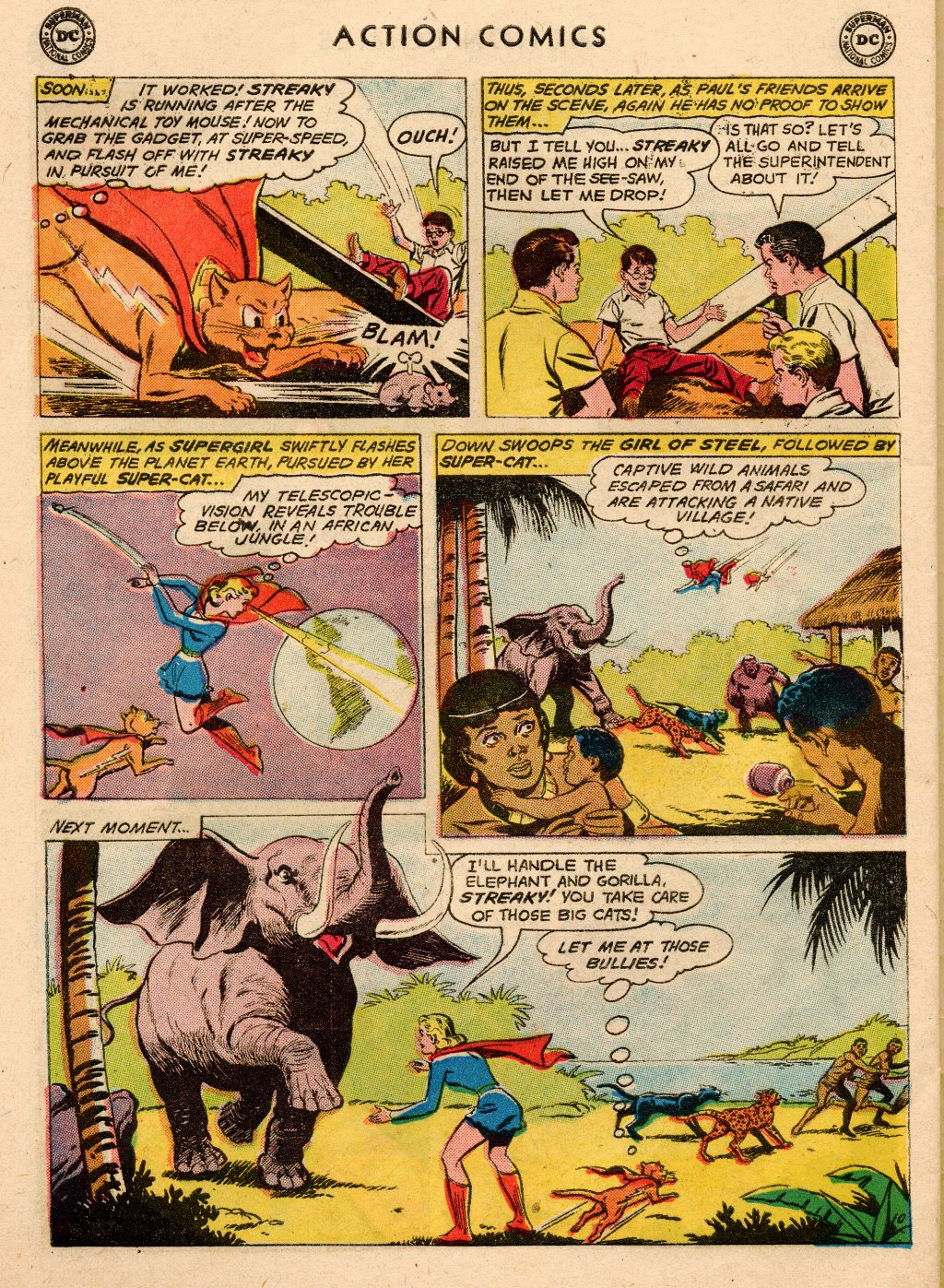 Read online Action Comics (1938) comic -  Issue #266 - 28