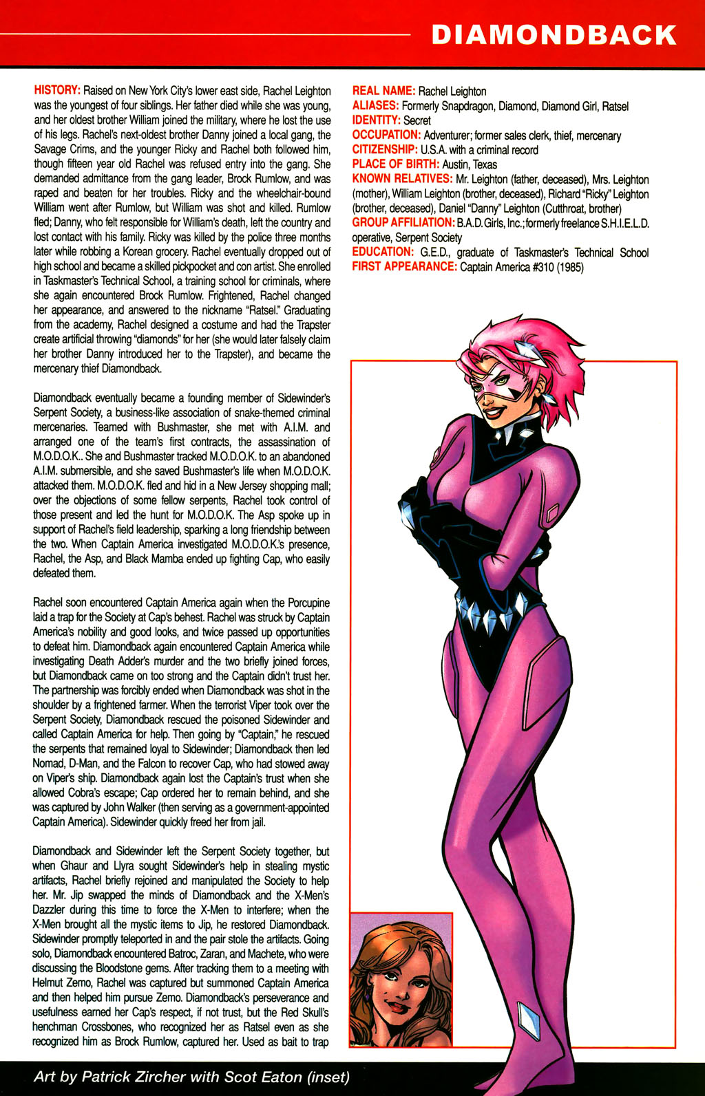 Read online All-New Official Handbook of the Marvel Universe A to Z comic -  Issue #3 - 51