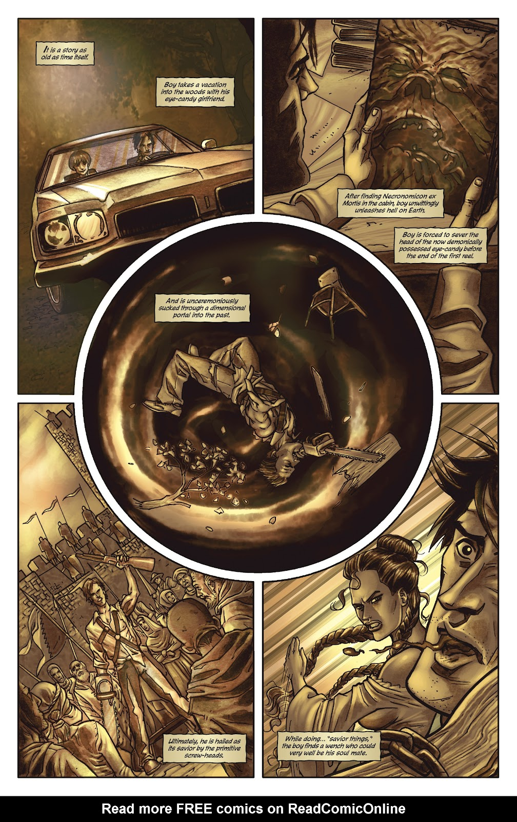 Army of Darkness: The Long Road Home issue TPB - Page 8