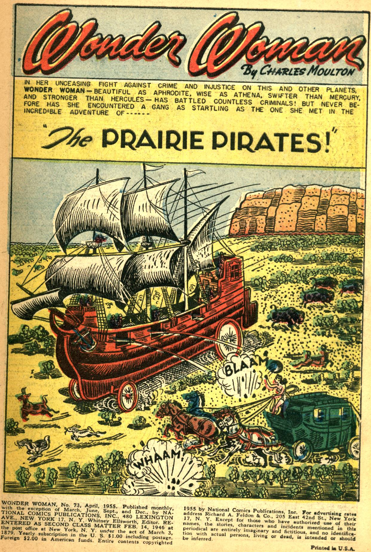 Read online Wonder Woman (1942) comic -  Issue #73 - 3
