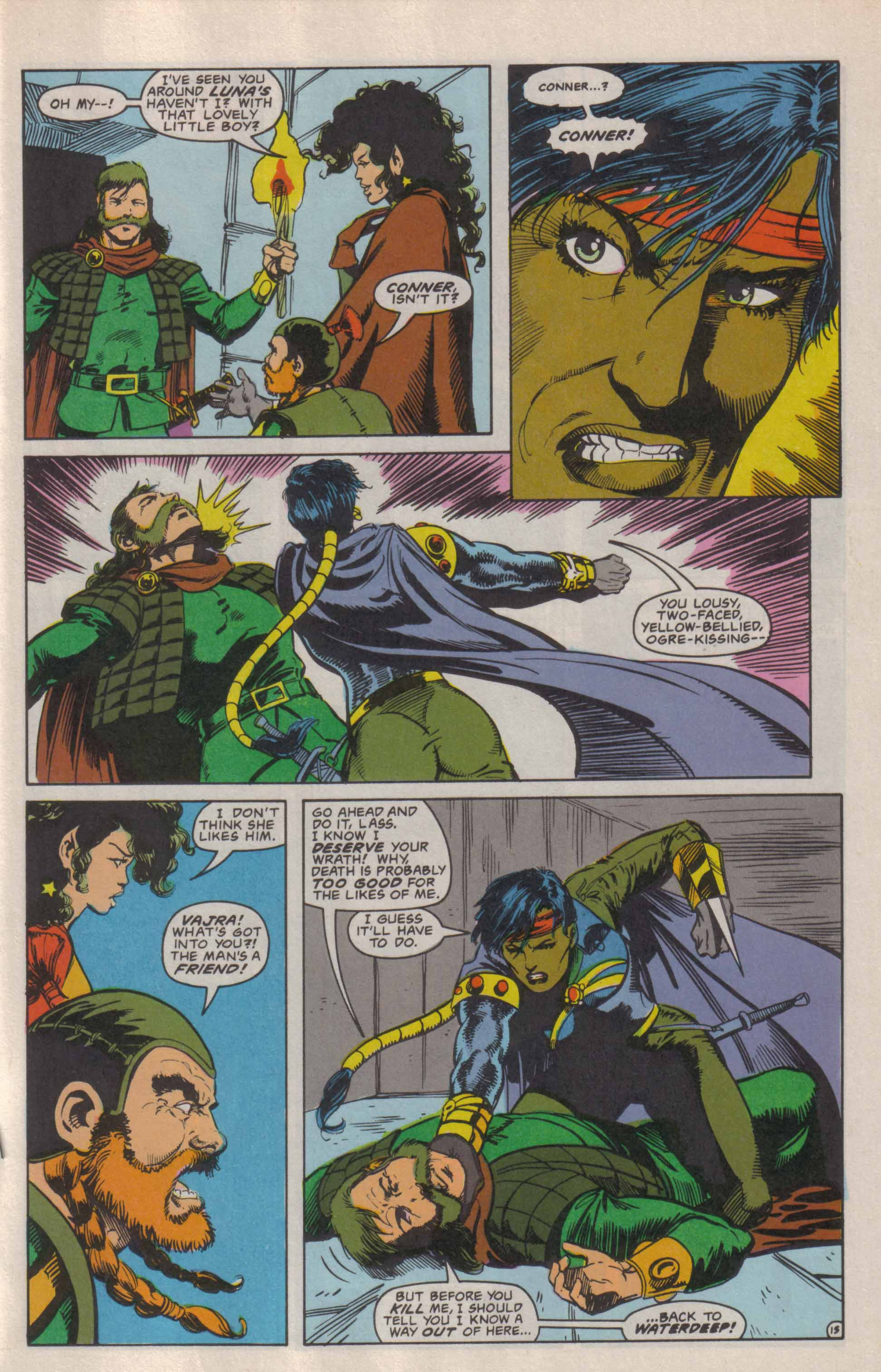 Read online Advanced Dungeons & Dragons comic -  Issue #6 - 16